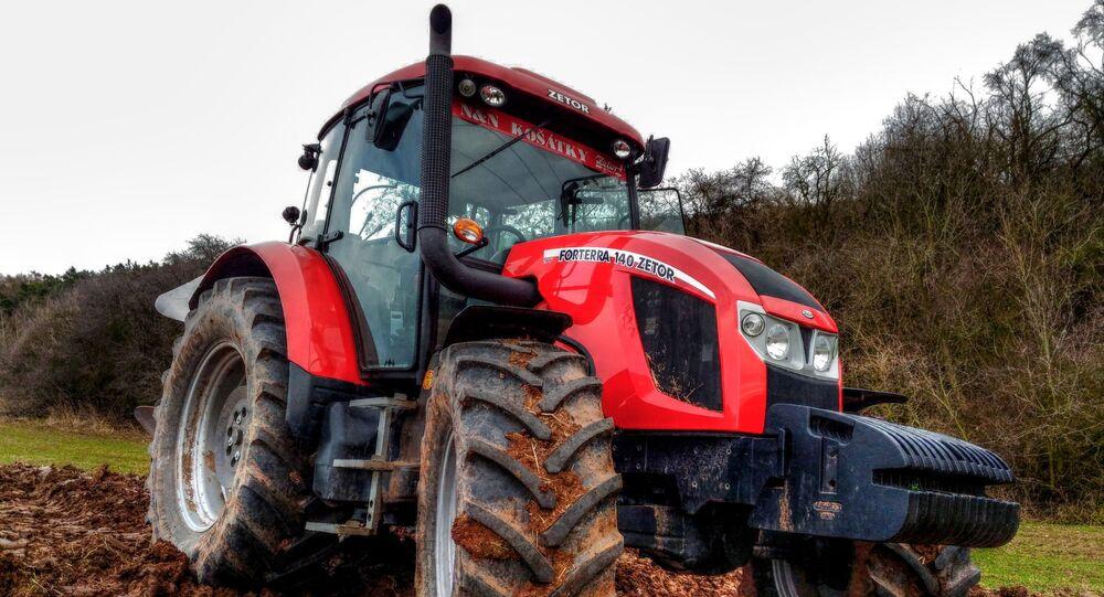 Traktor vyrobený společností Zetor