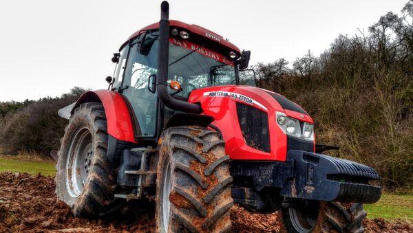 Traktor vyrobený společností Zetor - Sputnik Česká republika