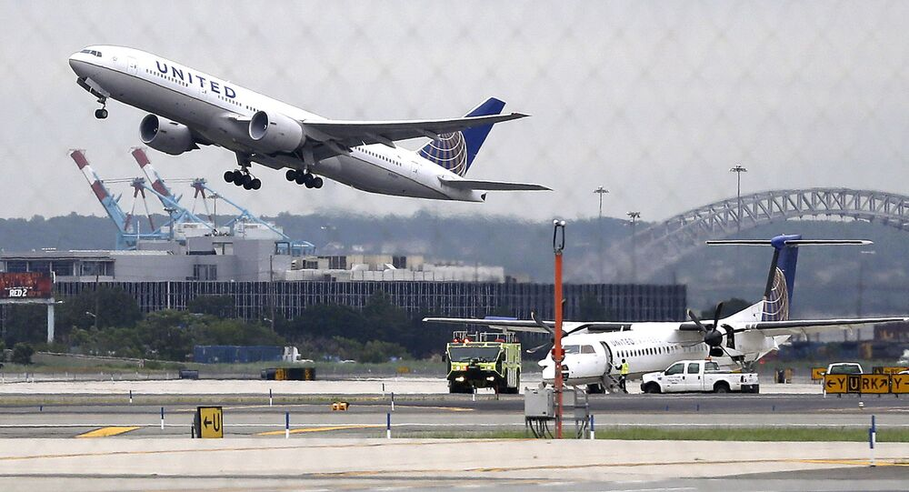 Letadlo společnosti United Airlines