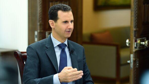 Prezident Sýrie Bašár Asad - Sputnik Česká republika
