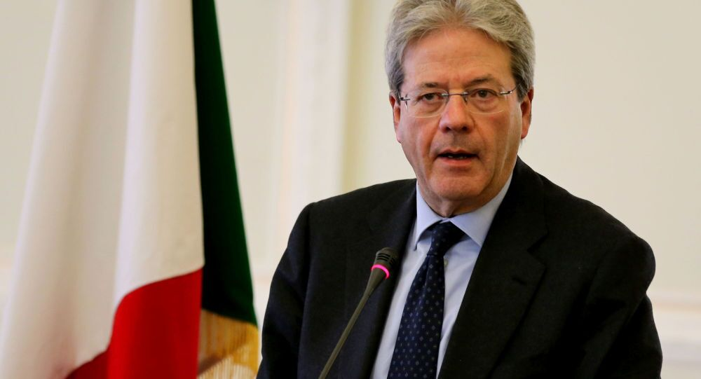 Italský premiér Paolo Gentiloni
