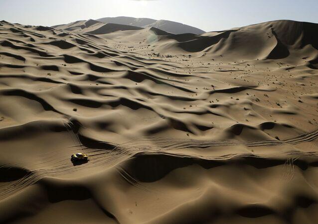 Ilustrační foto: Poušť Gobi