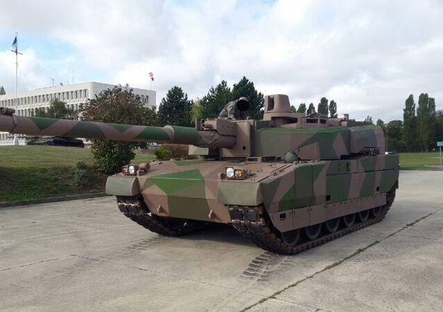 Francouzský tank Leclerc