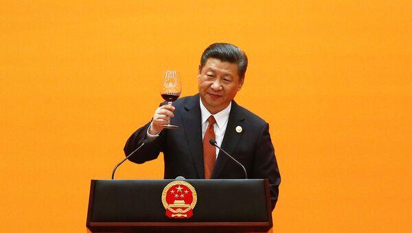 Čínský prezident Xi Jinping - Sputnik Česká republika