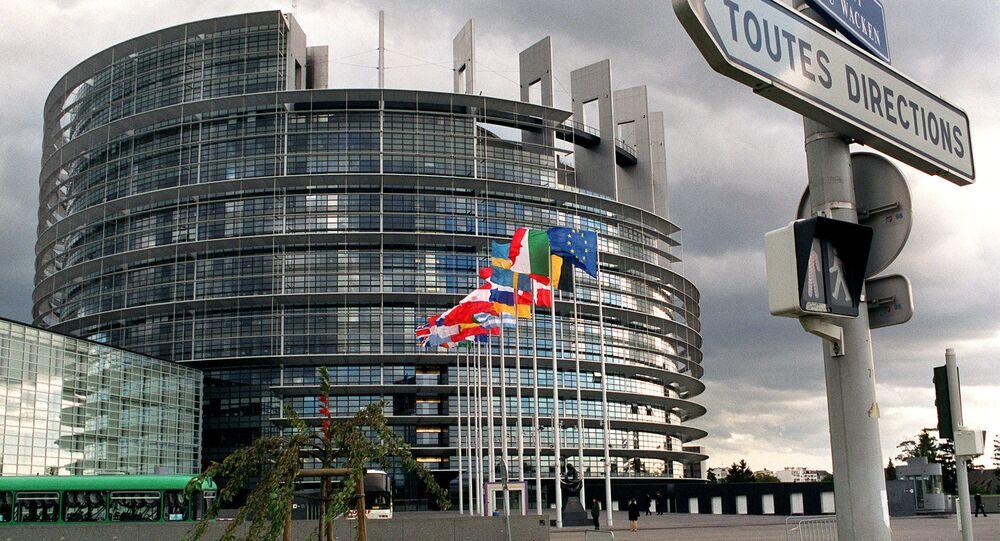 Budova Evropského parlamentu ve Štrasburku
