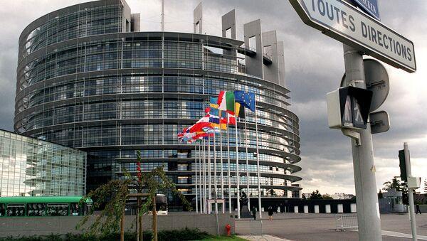 Budova Evropského parlamentu ve Štrasburku - Sputnik Česká republika