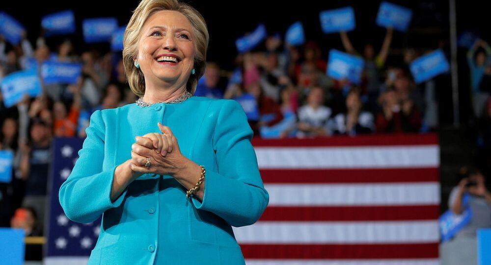 Bývalá kandidátka na prezidenta USA Hillary Clintonová. Ilustrační foto