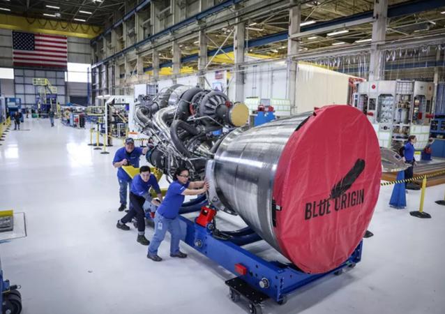 Motor BE-4 Blue Origin