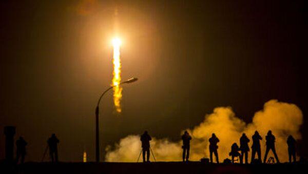 Start kosmické lodi Sojuz TMA-16M - Sputnik Česká republika