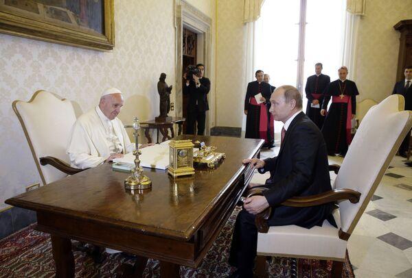 Italská cesta Vladimira Putina - Sputnik Česká republika