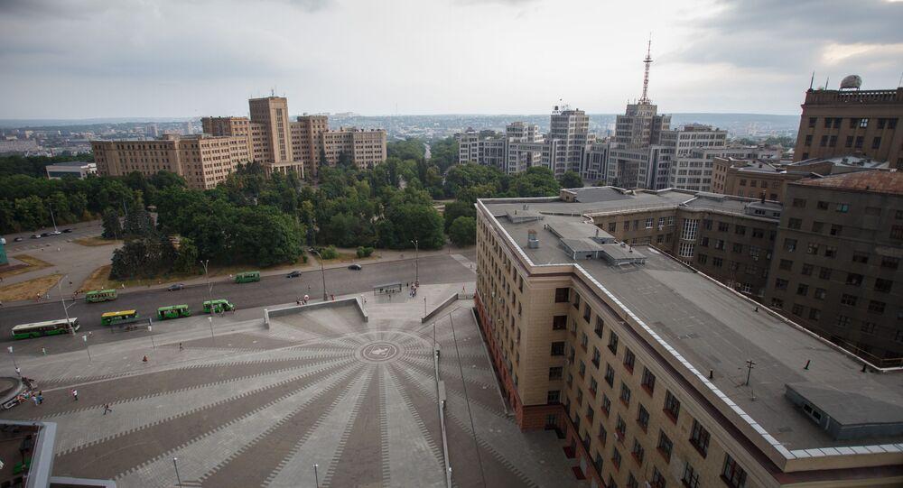 Centrální náměstí v Charkově