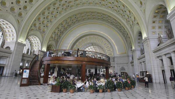 Železniční nádraží Washingtonu Union Station - Sputnik Česká republika