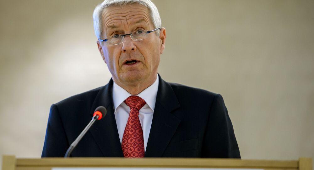 Předseda Rady Evropy Thorbjørn Jagland