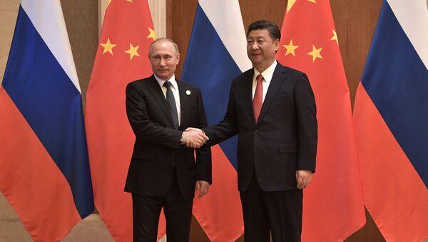Putin a Si Ťin-pching - Sputnik Česká republika