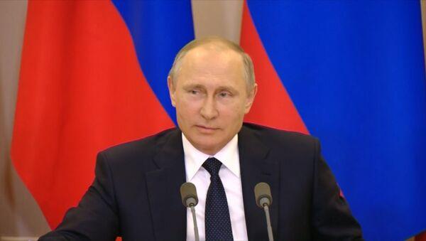 Putin žertuje o špionáži - Sputnik Česká republika