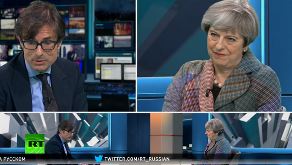 10 disíc dislajků: britská premiérka dělala první přenos přes Facebook - Sputnik Česká republika