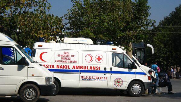 Turecká sanitka - Sputnik Česká republika