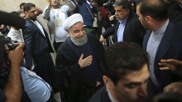 Úřadující íránský prezident Hasan Rúhání - Sputnik Česká republika