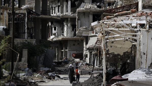 Al-Zabadani, Sýrie - Sputnik Česká republika