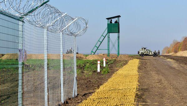 Hranice mezi Ruskem a Ukrajinou - Sputnik Česká republika