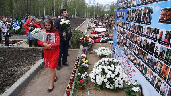 V Petrohradě pohřbili neidentifikované ostatky obětí katastrofy na Sinaji - Sputnik Česká republika