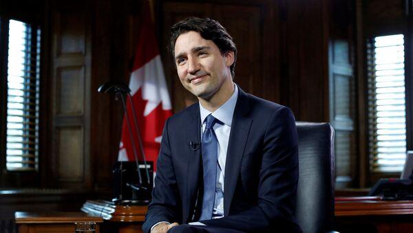 Premiér Kanady Justin Trudeau - Sputnik Česká republika