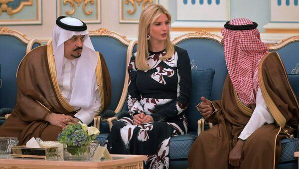 Ivanka Trumpová během návštěvy do Saúdské Arábie - Sputnik Česká republika