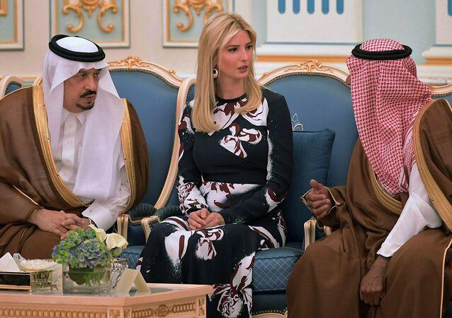 Ivanka Trumpová během návštěvy do Saúdské Arábie