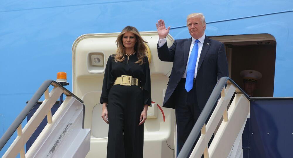 Melania Trumpová a Donald Trump