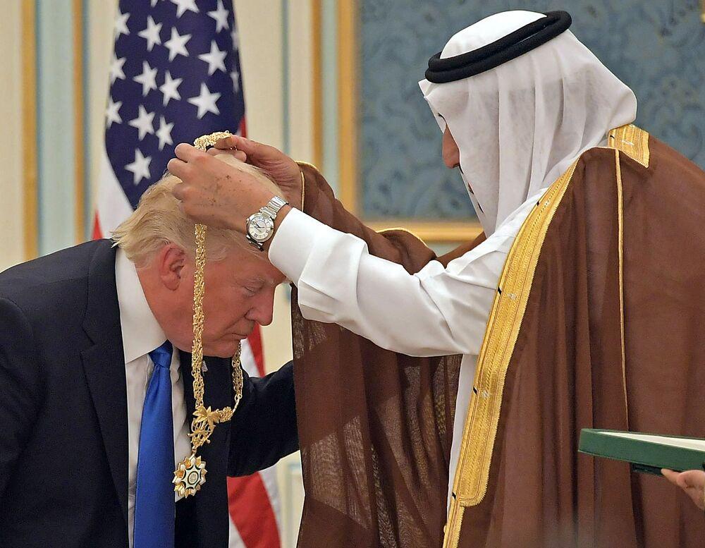 Návštěva Donalda Trumpa v Saúdské Arábii