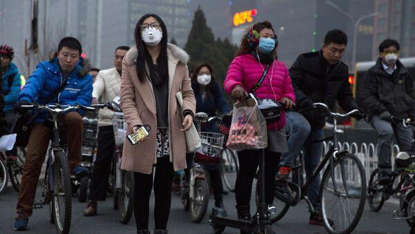 Obyvatelé Pekingu - Sputnik Česká republika