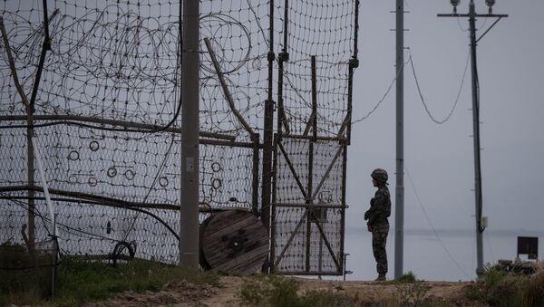 Demilitarizovaná zóna mezi Jižní Koreou a KLDR - Sputnik Česká republika