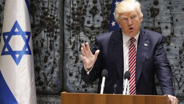 Návštěva Donalda Trumpa v Izraeli - Sputnik Česká republika
