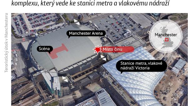 Teroristický útok v Manchesteru - Sputnik Česká republika