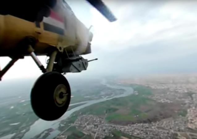 Na webu se objevilo panoramatické video bojového letu Mi-28