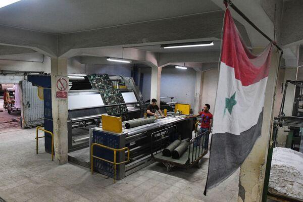 Syrský průmysl - Sputnik Česká republika
