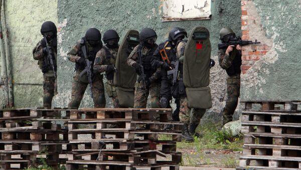 Příslušníci FSB během cvičení - Sputnik Česká republika