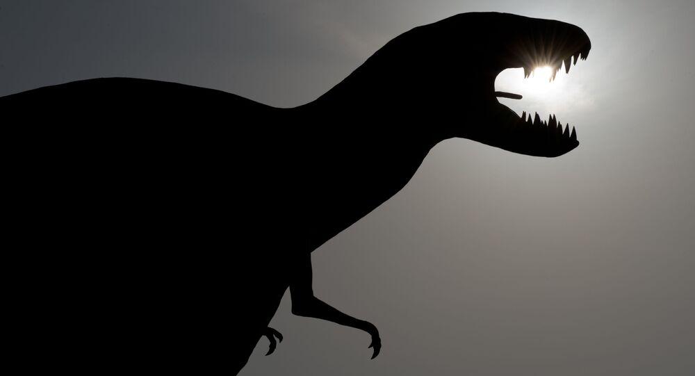 Model dinosaura v Německu. Ilustrační foto