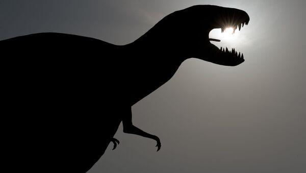 Model dinosaura v Německu. Ilustrační foto - Sputnik Česká republika