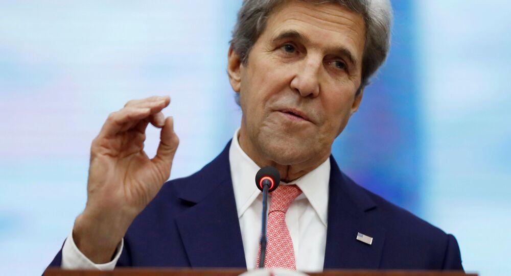 Bývalý ministr zahraničí Spojených států John Kerry