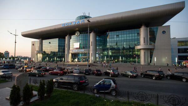 Pohled na nádraží v Kyjevě - Sputnik Česká republika