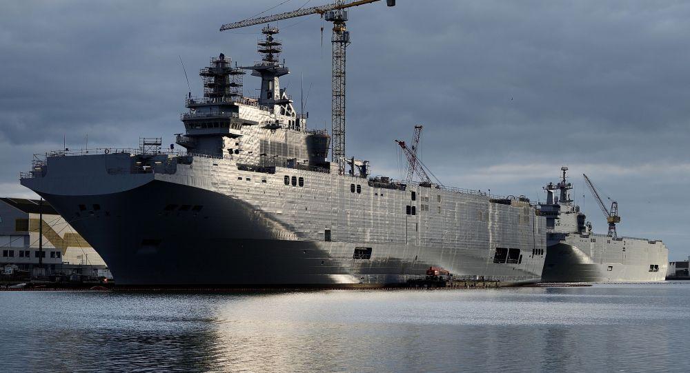 Vrtulníková loď třídy Mistral