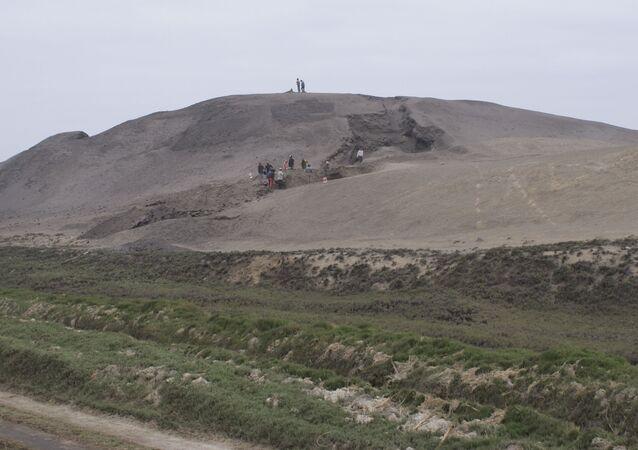 Vykopávky v Huaca Prieta