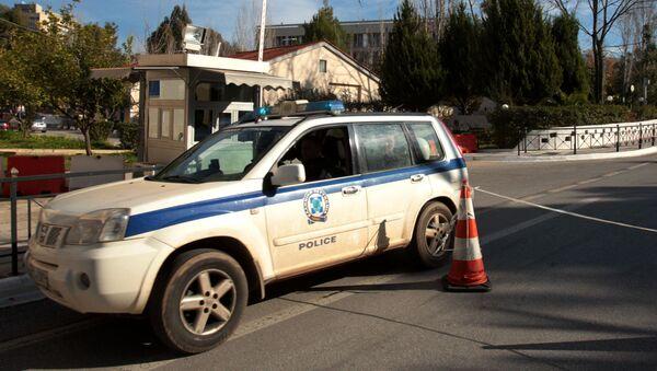 Řecká policie - Sputnik Česká republika
