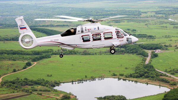 Nový ruský vrtulník Ka-62 - Sputnik Česká republika