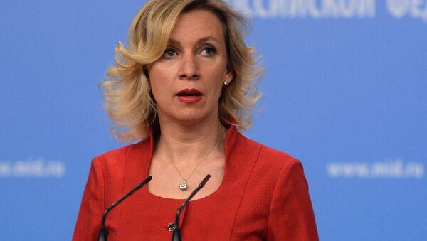 Официальный представитель МИД России Мария Захарова - Sputnik Česká republika