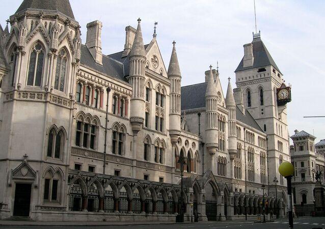 Budova Nejvyššího soudu Velké Británie