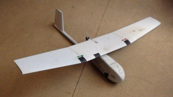 Ukrajinský dron, který zachytili v LLR - Sputnik Česká republika