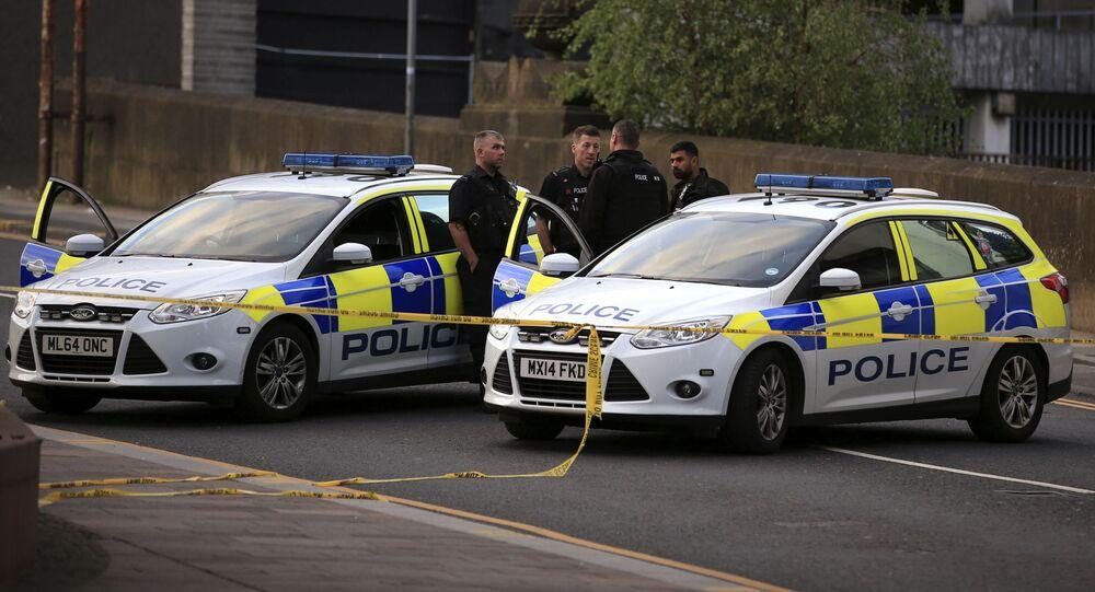 Policie v Británii. Ilustrační foto