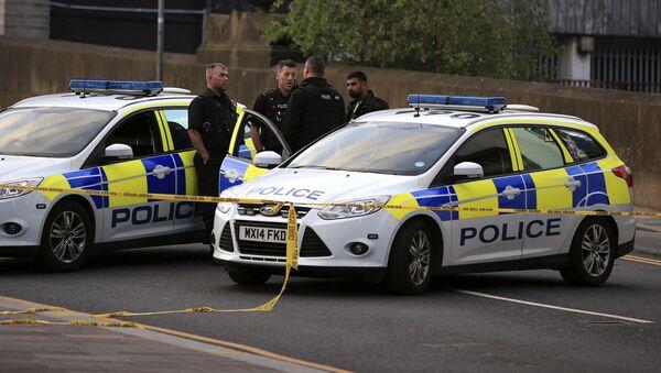 Policie v Manchesteru - Sputnik Česká republika